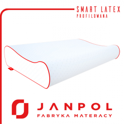 Poduszka SMART LATEX PROFILOWANA - JANPOL