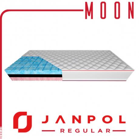 Materac MOON - JANPOL + GRATIS